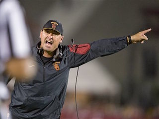 USC fires football coach Steve Sarkisian