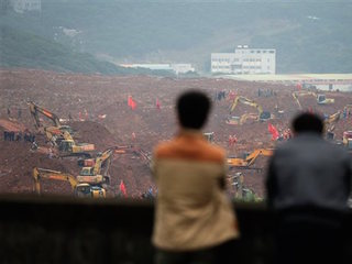 One body found, 81 missing in China landslide