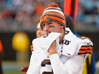 Browns expected to release QB Johnny Manziel