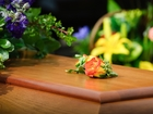 Woman attended her own funeral