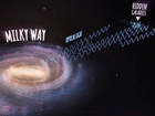 Hundreds of galaxies found behind the Milky Way