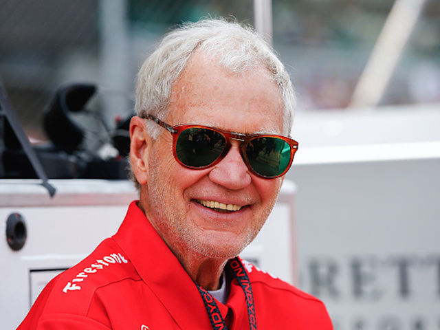 David Letterman Clearly Going For A 'Santa Chic' Look