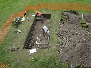 Rare Roman villa discovered by accident
