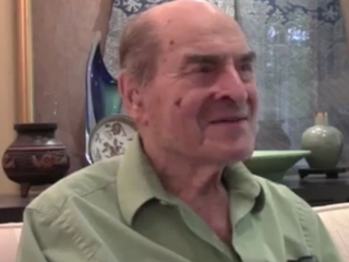 Henry Heimlich finally used his own maneuver
