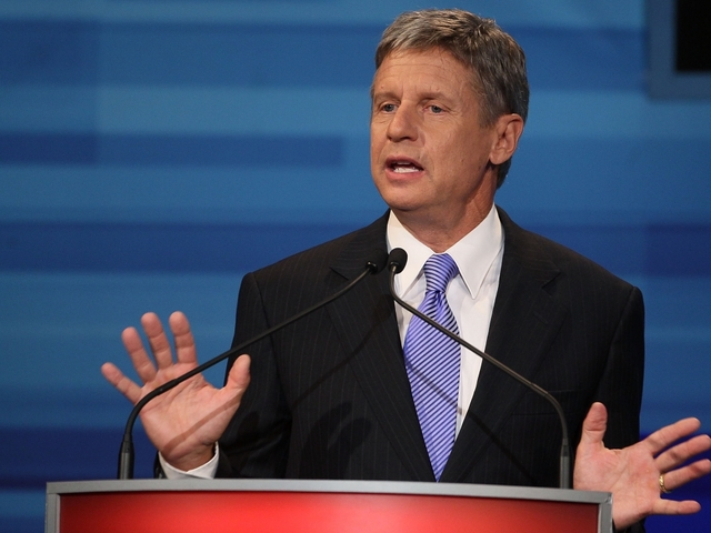 Gary Johnson may not be on OH ballot