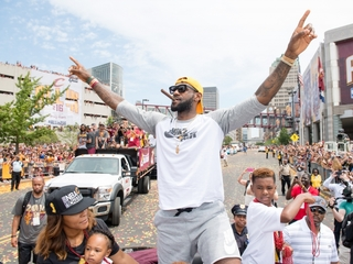 LeBron James is staying in Cleveland, for now