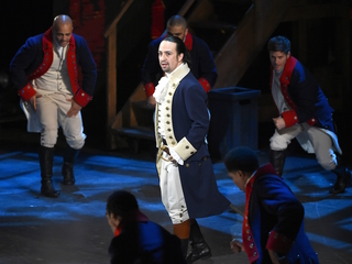 Creator of 'Hamilton' musical says goodbye