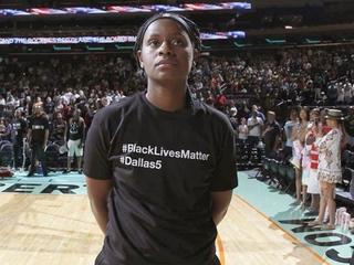 WNBA fines teams, players for black warmups