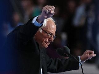 Sanders gets emotional reception at DNC