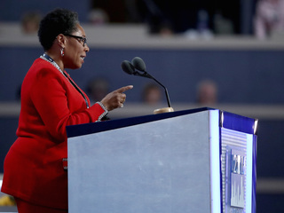 New DNC chair interrupted by Sanders fans' boos