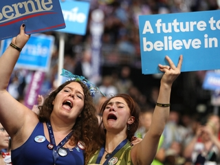 Sanders supporters react to his message of unity