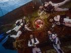 Astronauts train below ocean's surface