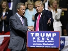 Nigel Farage teams up with Trump