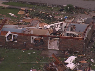 WATCH: An Indiana tornado leveled this Starbucks
