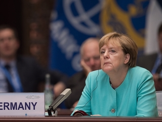 Merkel's party takes a blow in her home state