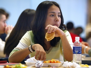 'Food insecure' teens break laws for meals