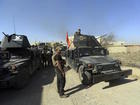Iraqi forces advance northeast of Mosul