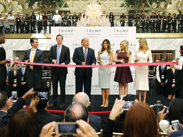 How Trump could violate his own hotel lease
