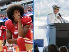 Pearl Harbor ceremony includes jab at Kaepernick