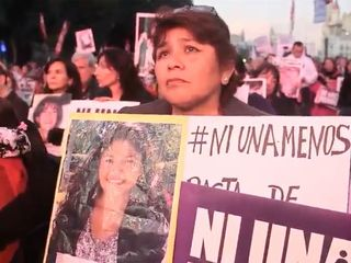 Activists in Argentina are fighting violence