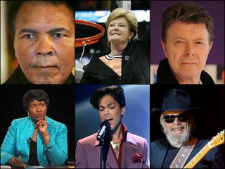 Gallery: 2016's celebrity deaths