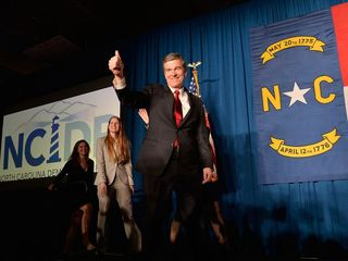 N.C. law stripping governor's powers on hold