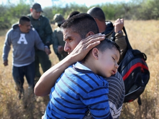 Violence influencing who illegally immigrates
