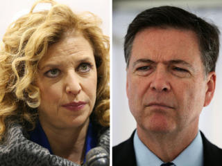 Wasserman Schultz goes after FBI director