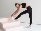 These leggings are made from water bottles
