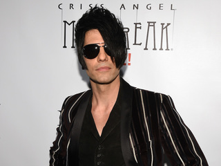 Criss Angel rushed to hospital after live mishap