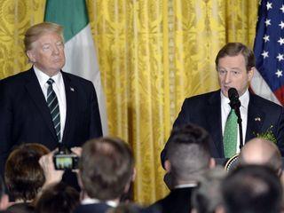 Irish leader praises immigrants in speech