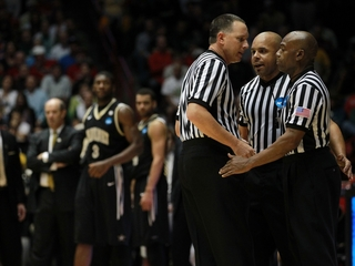 NCAA referees have March Madness, too