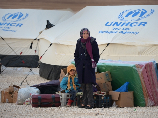 Syrian refugee number passes 5m mark, United Nations  reveals