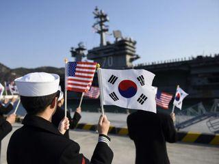 US Navy sends ships to Korean Peninsula