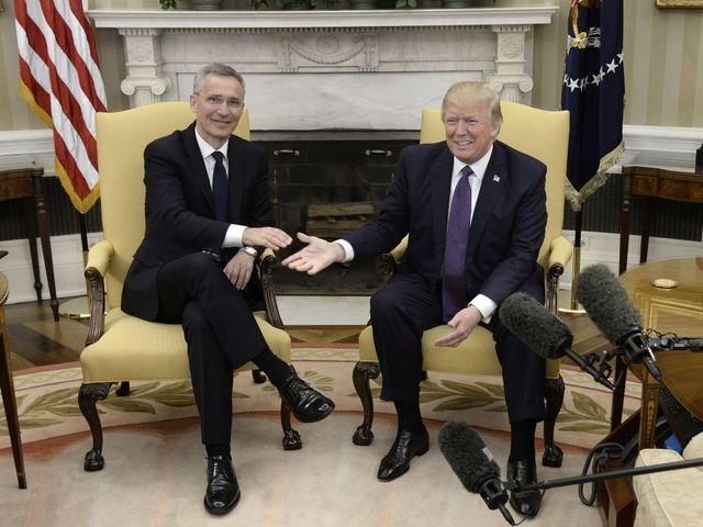 Trump Says NATO