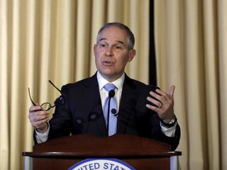 EPA leader wants out of Paris climate agreement