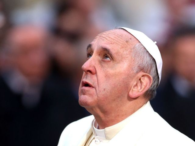 Pope on Easter slams 'vile' attack on civilians
