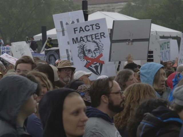 Tens of Thousands March for Science in Manhattan