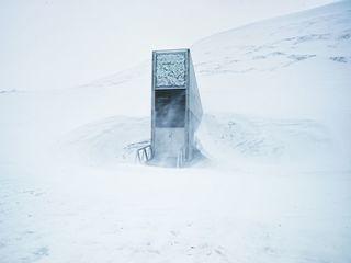 Melting arctic ice threatens global seed vault