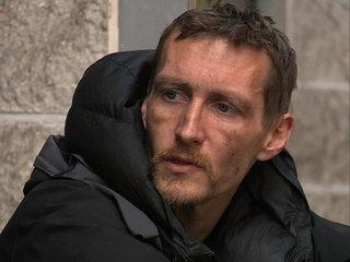 Homeless man hailed for bravery during attack