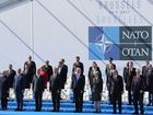 Trump meets with NATO leaders at summit