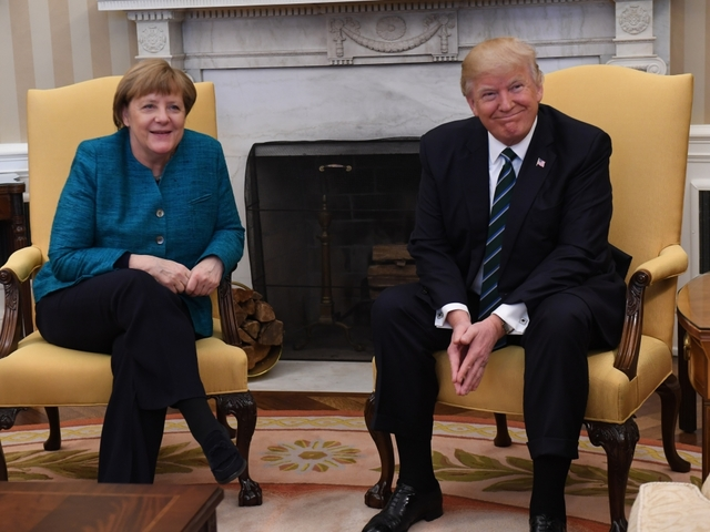 PM Modi backs Merkel's leadership as Trump criticises Germany