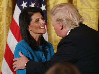 Haley: Trump believes climate change is real