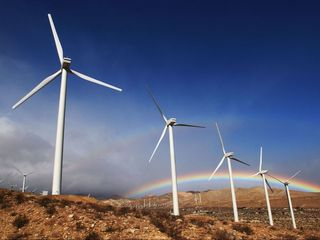 US sets new record for wind and solar power use