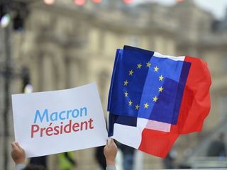 France favors Macron's party for parliament
