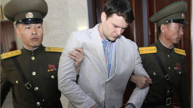 USA  student freed from North Korea in coma dies