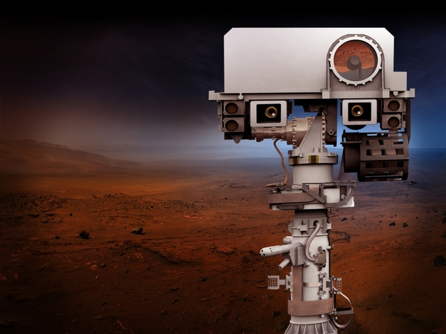 NASA's Mars telescope spied Curiosity rover on planet's rocky surface