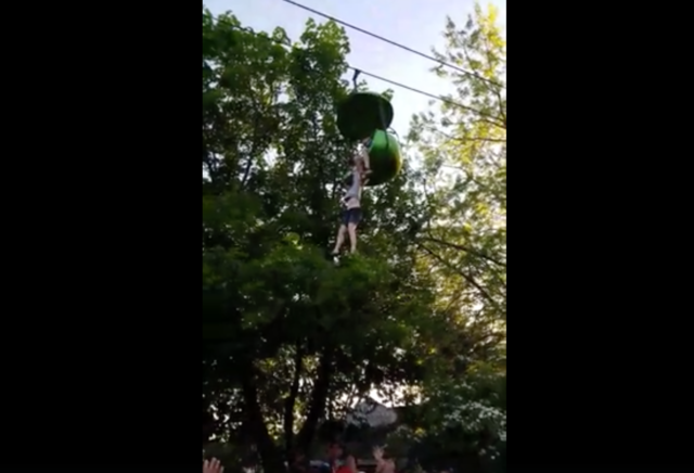 Horrifying moment girl falls from ride at Six Flags