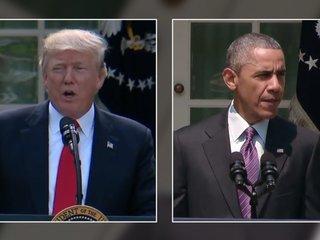 Trump accuses Obama of collusion