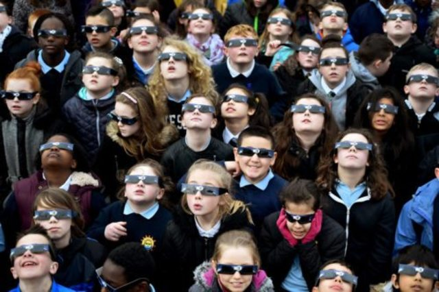 The Eclipse: Watching your children, while you watch the totality